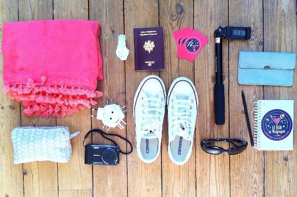 préparation de sa valise pour partir en voyage