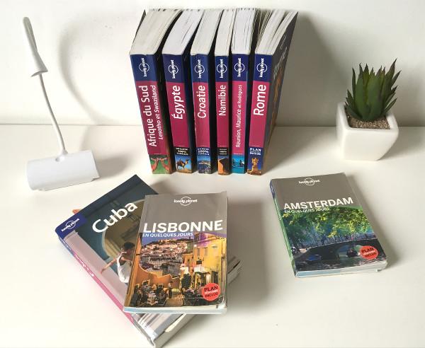 guides Lonely Planet pour préparer votre voyage