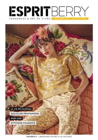 couverture du magazine Esprit Berry n°8
