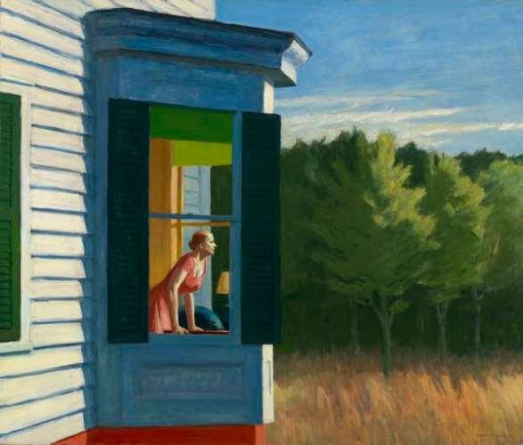 """""""Cape Cod Morning"""", toile d'Edward Hopper, à découvrir à la Fondation Beyeler en visite virtuelle"""