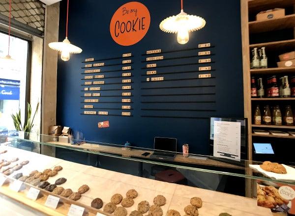 Intérieur de la boutique Be My Cookie à Bordeaux