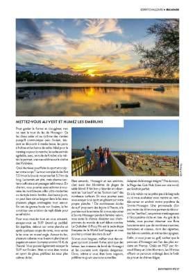 page 4 de l'article sur Hossegor paru dans le magazine Esprit Berry n°9