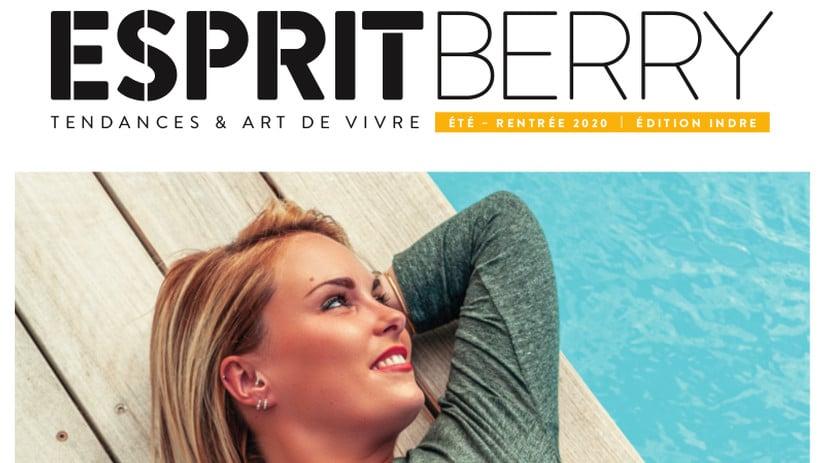 Couverture du magazine Esprit Berry n°9