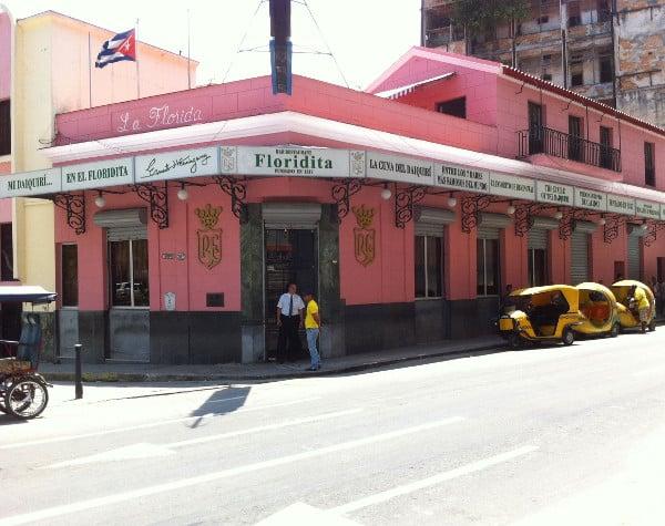 la bar Floridita, un incontournable lors d'un séjour de 4 jours à La Havane
