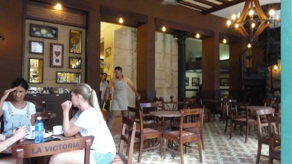 L'intérieur du café O'reilly