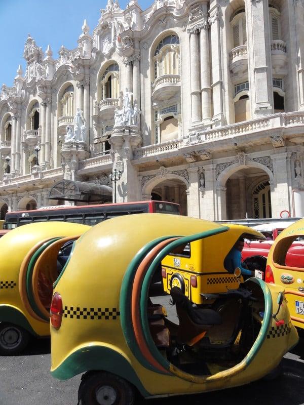 coco taxis de La Havane