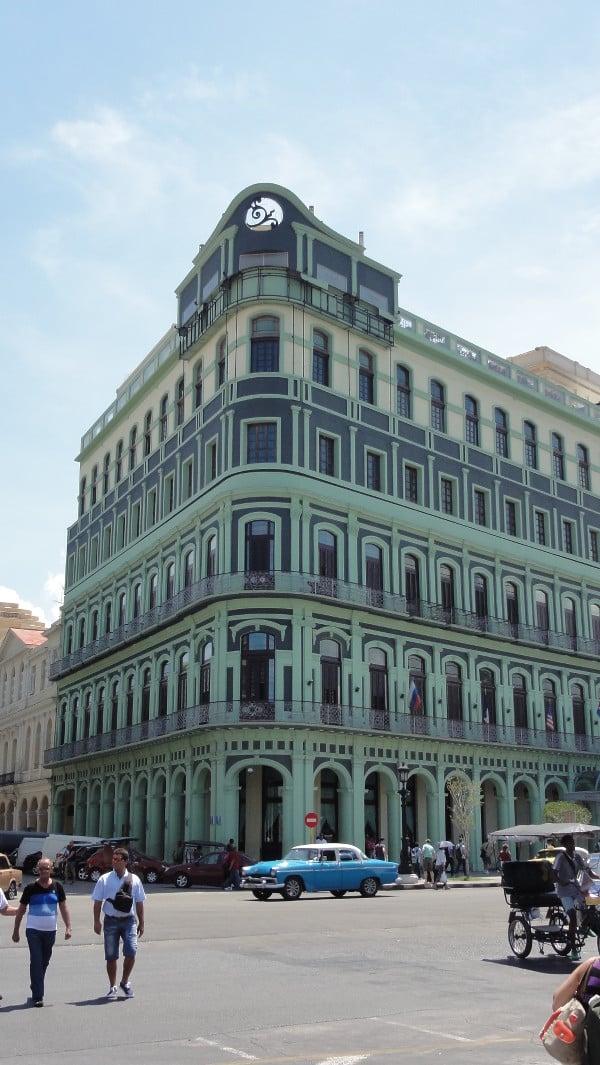 architecture typique de La Havane