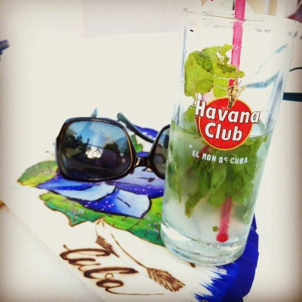 verre de mojito Havana Club