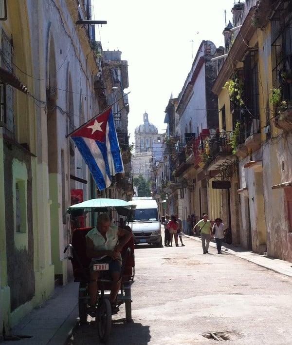 Rue typique de La Havane