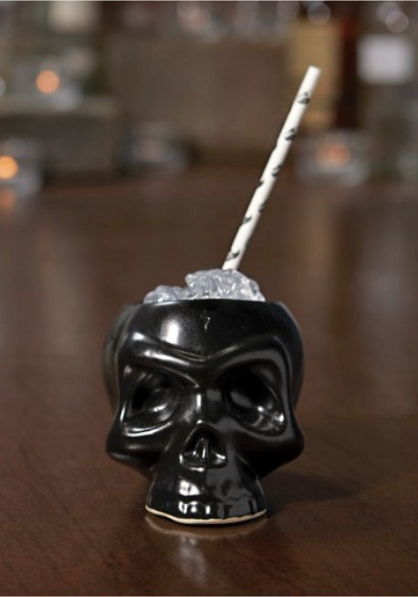 Dark Skull Mug  Cocktail Mugs  PRO BAR