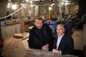 Mauro Porcini e Seth Kaufman, nei futuri spazi del Kola House