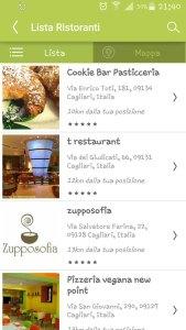 Una nuova app per vegani e vegetariani