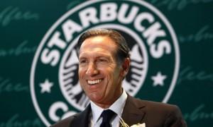 Howard Shultz, ceo di Starbucks