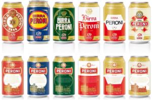 La Peroni presenta alcune lattine in edizione limitata