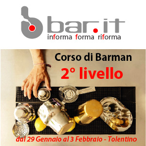 29 GENNAIO 2018 CORSO BARMAN 2° LIVELLO