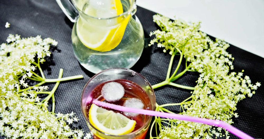 cocktail al sambuco