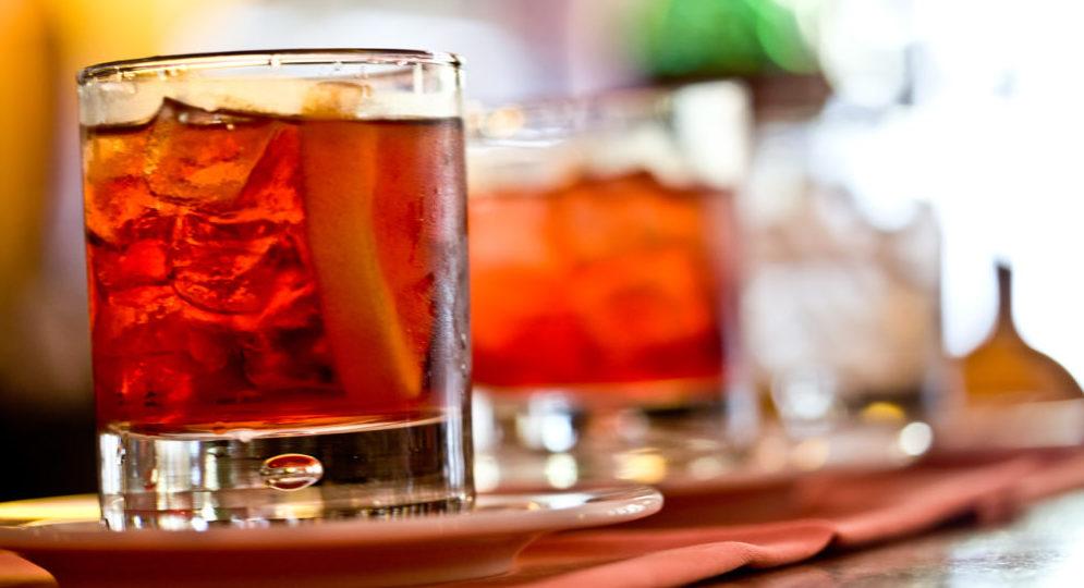 martini cocktail e negroni