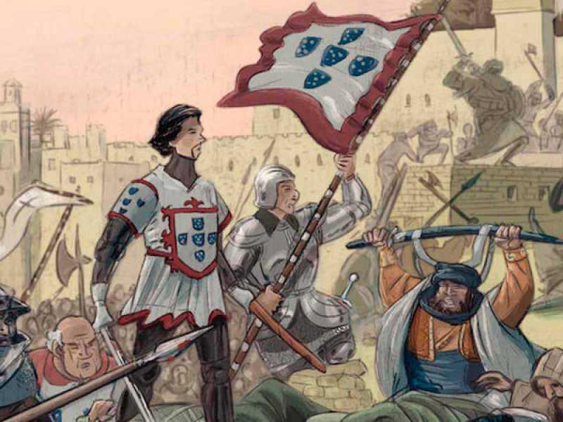 غزو سبتة ، مع بدء الاستعمار الأوروبي