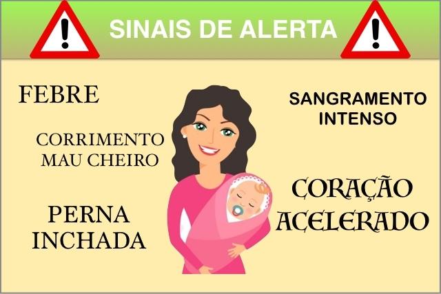 علامات تحذير بعد الولادة