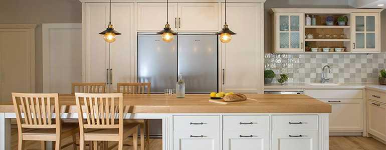 תכנון תאורה למטבח