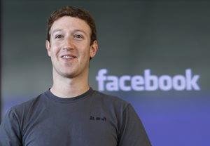 """מארק צוקרברג מנכ""""ל פייסבוק"""