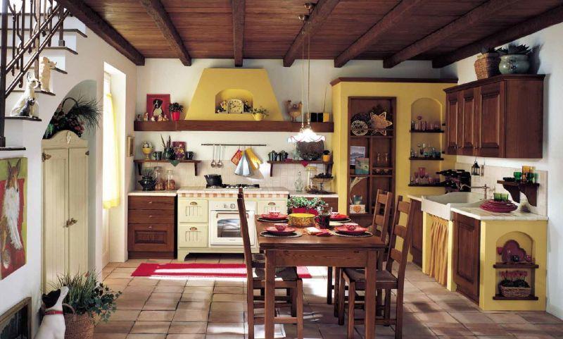 Best Cappe Rustiche Da Cucina Ideas - House Interior ...