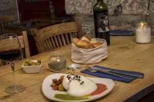 Burrata italiana de la Puglia