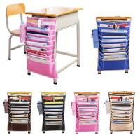 Hanging Table Desk Organizer Meja Belajar Book Rack Buku ...