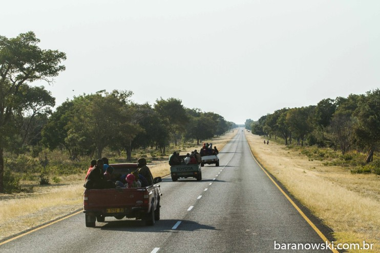 Botswana - Estradas