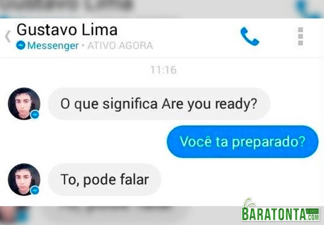 O que significa Are you ready?