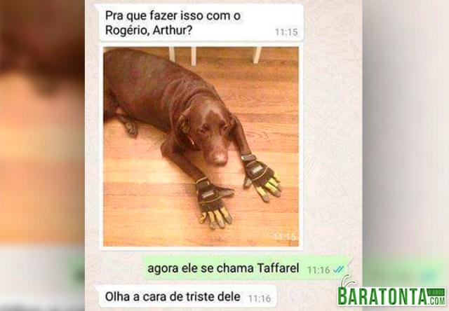Agora ele se chama Taffarel