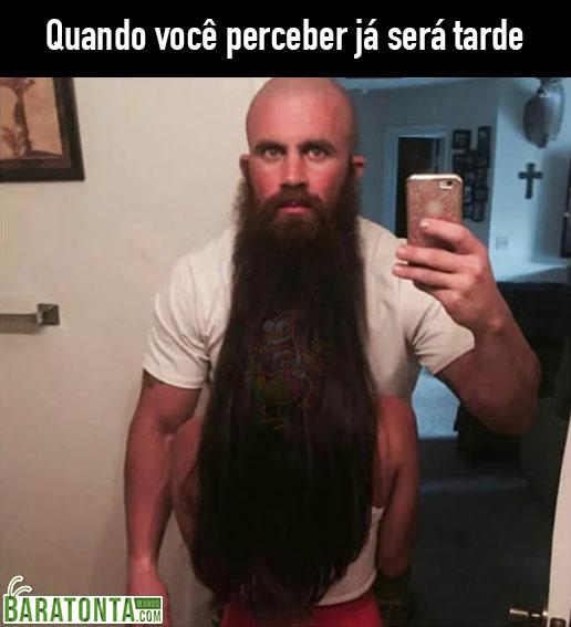 Nossa, que barba legal