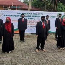 BPSK Kota Bogor Periode 2021-2026 Dilantik, Ini yang Akan Digencarkan