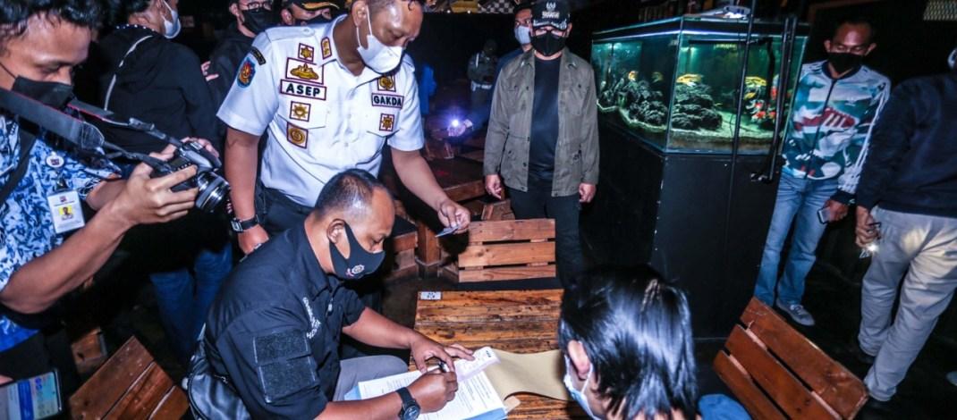 Langgar Jam Operasional, Dua Kafe di Kota Bogor Disanksi