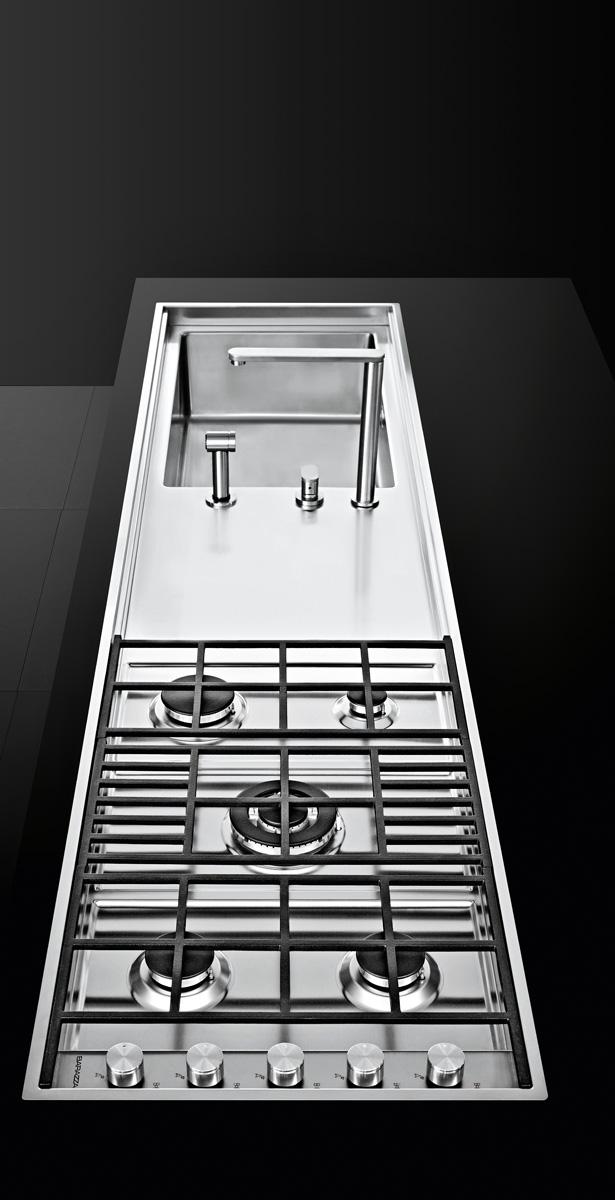 Lab Fusion un piano cottura su misura pratico ed elegante