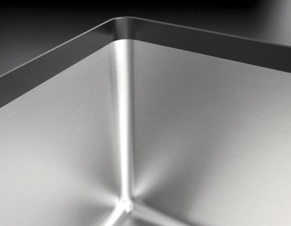 Vasca Quadra Soul da 50x40 B_granite bianco  Barazza srl