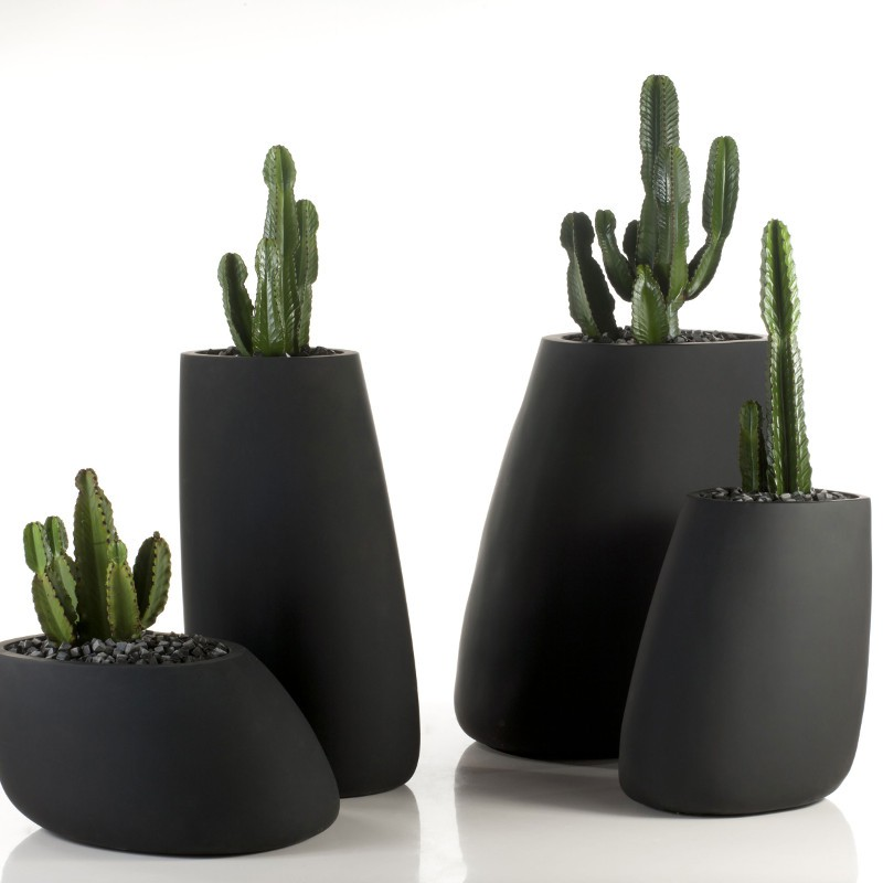 stone mat pot design flowerpot matt