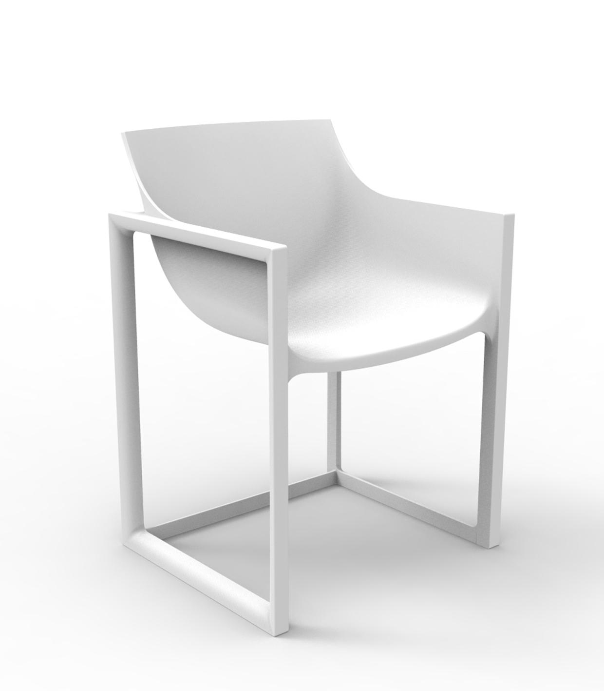 design chair outdoor heavy duty tailgate chairs wall street restaurant armchair by vondom