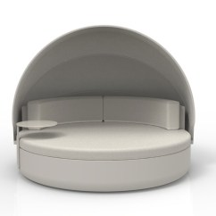 Extra Large Round Sofa Futons Bed Weymouth Ulm Daybed Parasol Igloo Like Outdoor With Matt