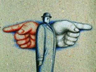 Risultati immagini per destra e sinistra politica fumetto