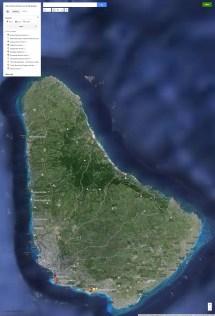 Barbados All Inclusive Resorts Map