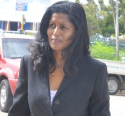 Minister of Labour Dr. Esther Byer