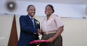 The Caribbean Secondary Examinationsnow held between early April to June. Lamar Grazette - outstanding performance in basketball, good CXC results in Physical Education. Rashida Codrington - vocal music excellence, good leadership in ISCF.