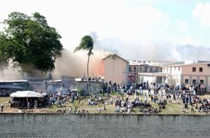 FLASHBACK: Glendairy Prison fire in 2005.