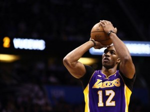 Dwight Howard starred for the Lakers on his return to Orlando.