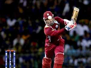 Marlon Samuels during the ICC T20 Final.