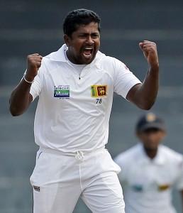 Rangana Herath's 12 wickets earned Sri Lanka the victory.