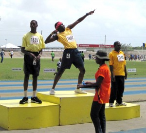 Special Olympians looking to get to the podium again on Friday.