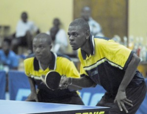 The table tennis season opens officially tomorrow.