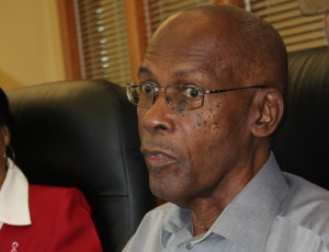 President of the Autism Association of Barbados, Lawton Walcott.